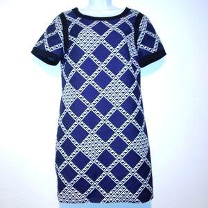 Trina Turk Geometric Shift Dress
